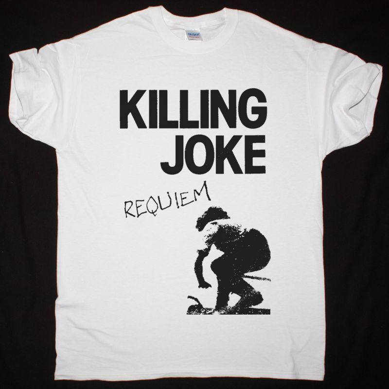 KILLING JOKE REQUIEM NEW WHITE T-SHIRT