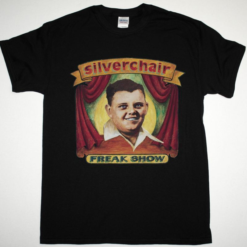 SILVERCHAIR FREAK SHOW NEW BLACK T-SHIRT