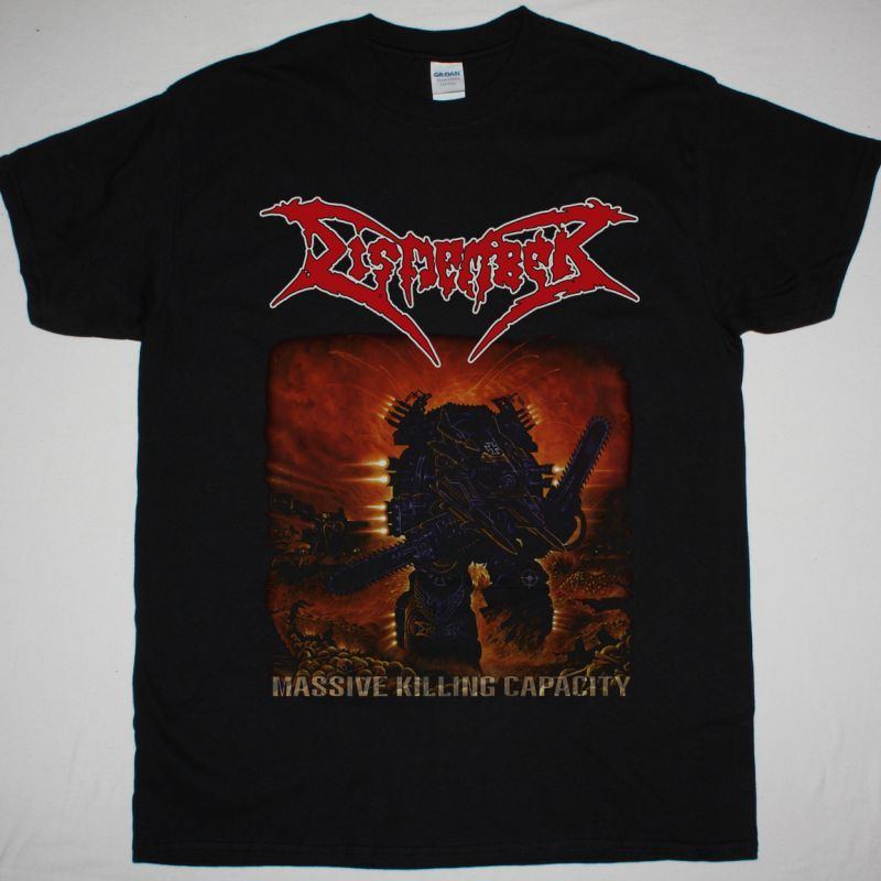 DISMEMBER MASSIVE KILLING CAPACITY NEW BLACK T-SHIRT