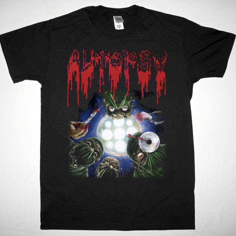 AUTOPSY SEVERED SURVIVAL  NEW BLACK T-SHIRT