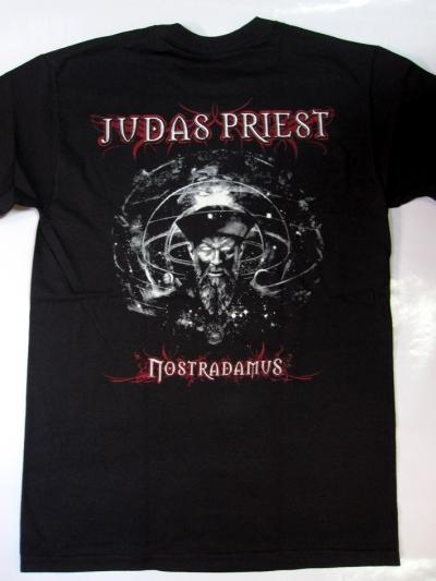 JUDAS PRIEST NOSTRADAMUS NEW BLACK T-SHIRT