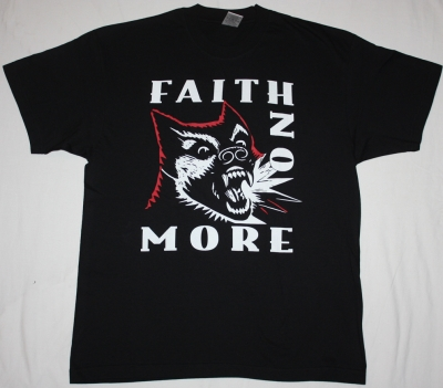 FAITH NO MORE DIGGING THE GRAVE  NEW BLACK T-SHIRT