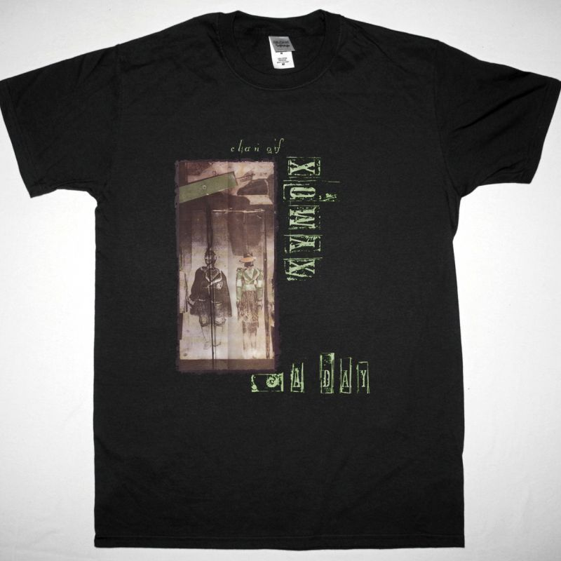 CLAN OF XYMOX A DAY NEW BLACK T SHIRT