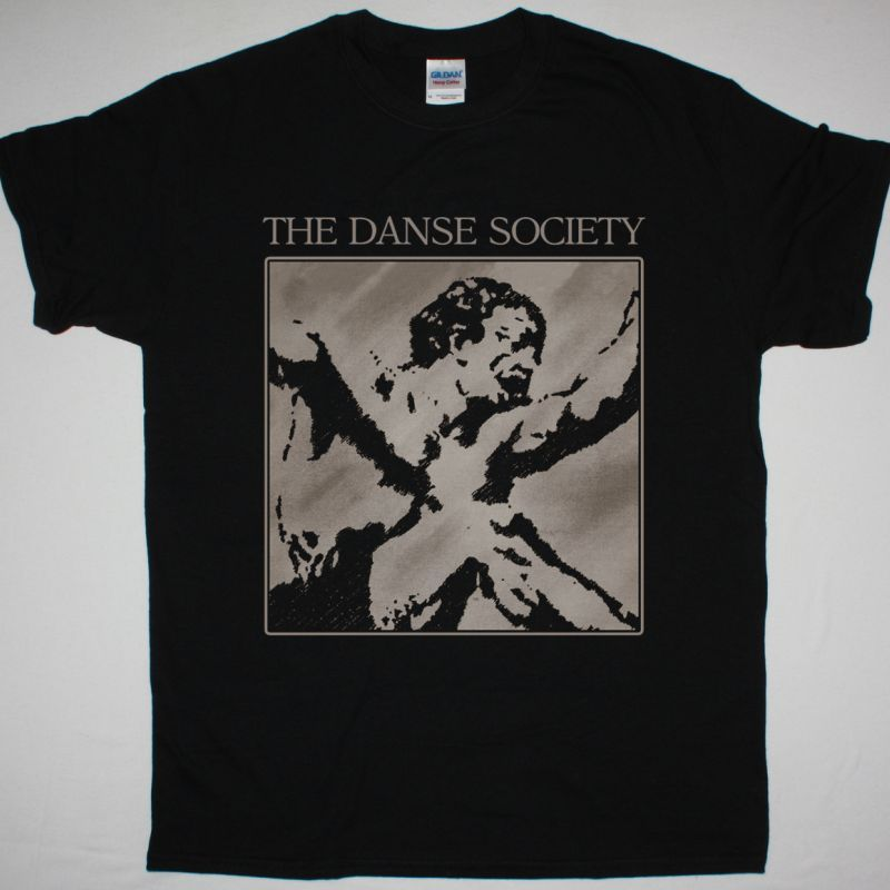 THE DANSE SOCIETY SEDUCTION NEW BLACK T SHIRT
