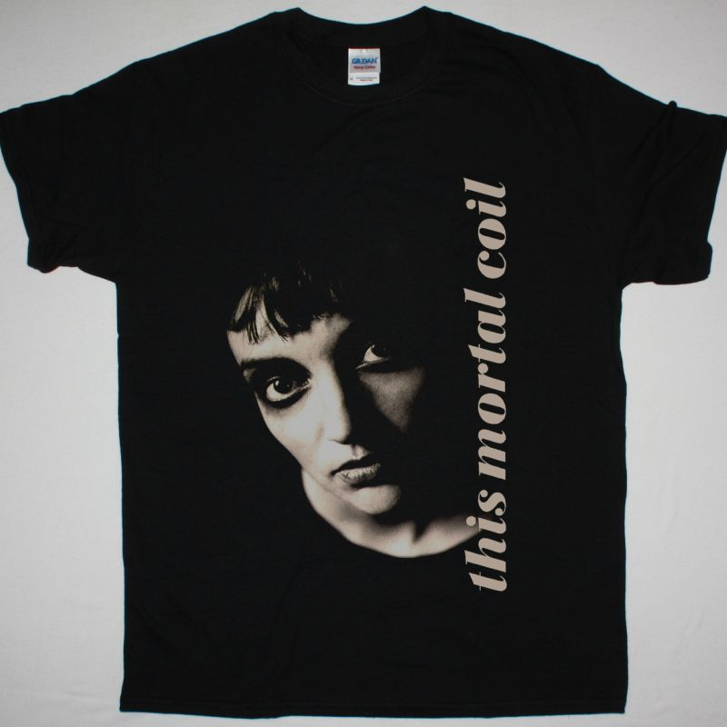 THIS MORTAL COIL BLOOD NEW BLACK T SHIRT