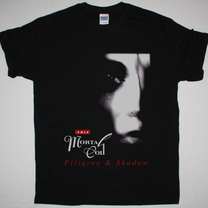 THIS MORTAL COIL FILIGREE & SHADOW NEW BLACK T SHIRT