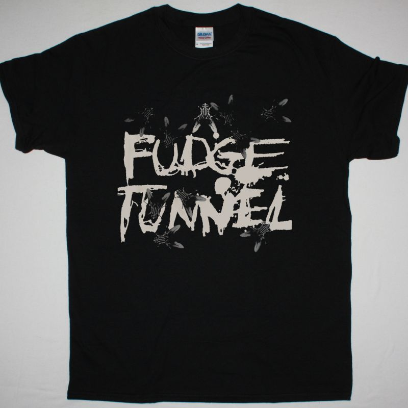 FUDGE TUNNEL CREEP DIETS NEW BLACK T SHIRT
