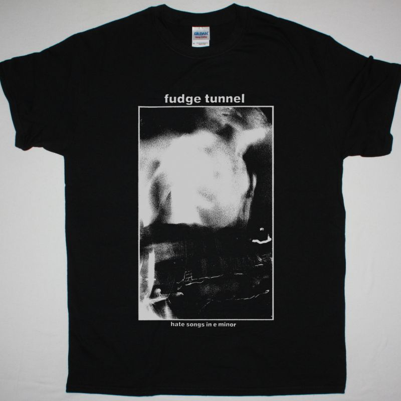 FUDGE TUNNEL HATE SONGS IN E MINOR NEW BLACK T SHIRT
