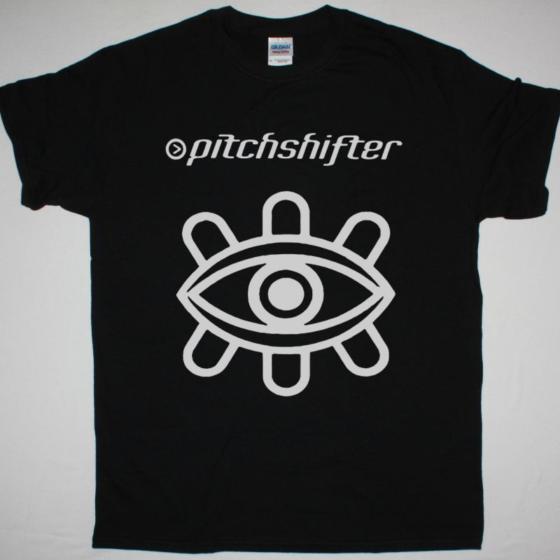 PITCHSHIFTER LOGO NEW BLACK T SHIRT