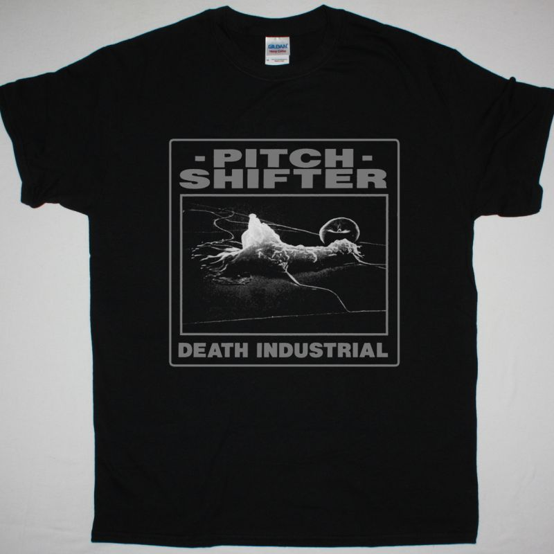 PITCHSHIFTER DEATH INDUSTRIAL NEW BLACK T SHIRT