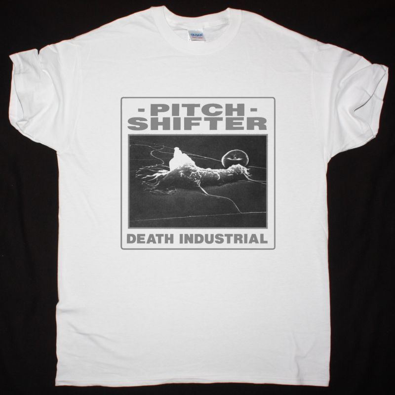 PITCHSHIFTER DEATH INDUSTRIAL NEW WHITE T SHIRT