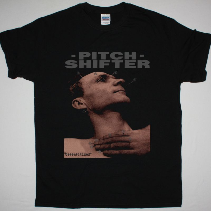 PITCHSHIFTER DESENSITIZED NEW BLACK T SHIRT