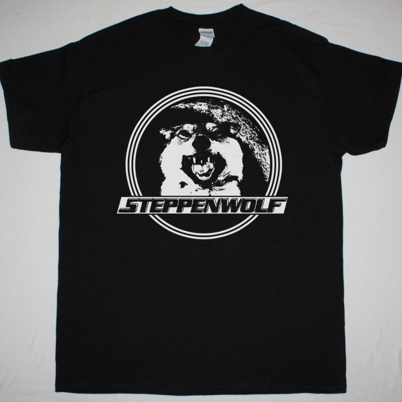 STEPPENWOLF LIVE STEPPENWOLF NEW BLACK T-SHIRT