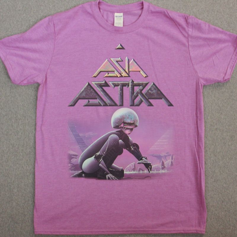 ASIA ASTRA 1985 NEW HEATHER ORCHID T SHIRT