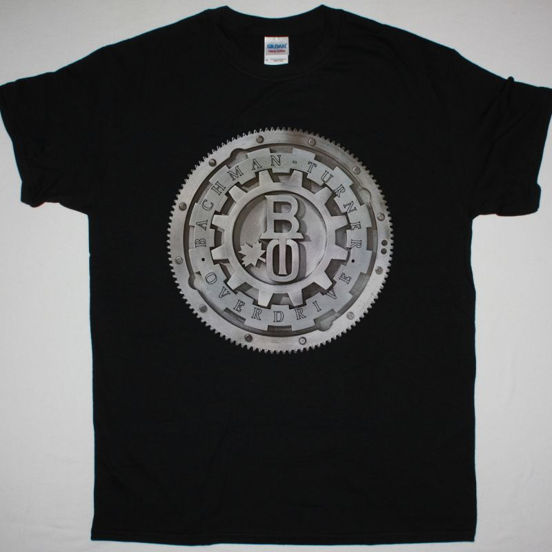BACHMAN-TURNER OVERDRIVE BACHMAN TURNER OVERDRIVE 1973 NEW BLACK T-SHIRT