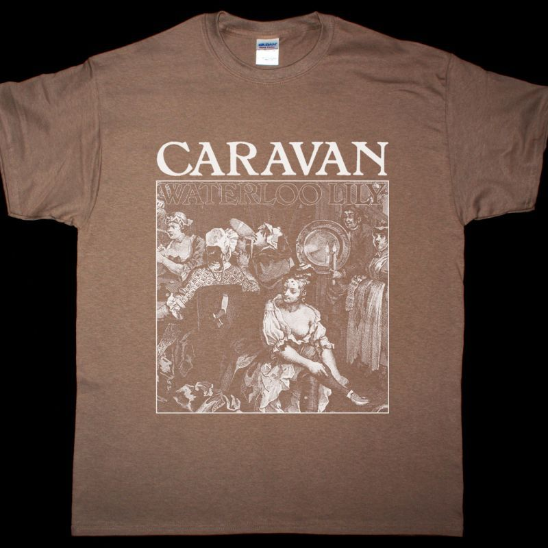 CARAVAN WATERLOO LILY NEW BROWN T-SHIRT