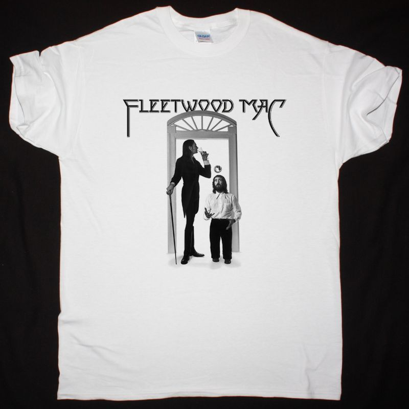 FLEETWOOD MAC 1975 THE WHITE ALBUM NEW WHITE T-SHIRT