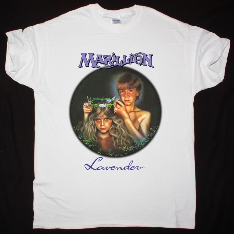 MARILLION LAVENDER NEW WHITE T-SHIRT