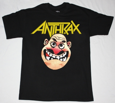 ANTHRAX NOT MAN 2 STATE OF EUPHORIA NEW BLACK T-SHIRT
