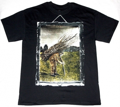 LED ZEPPELIN  IV NEW BLACK T-SHIRT