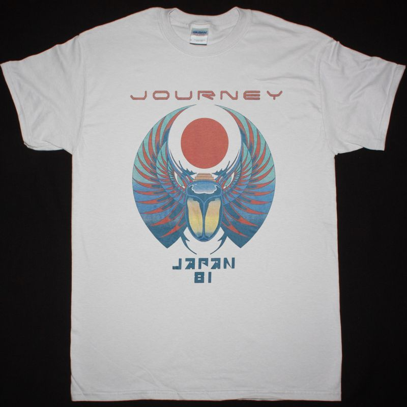 JOURNEY JAPAN 81 NEW ICE GREY T-SHIRT