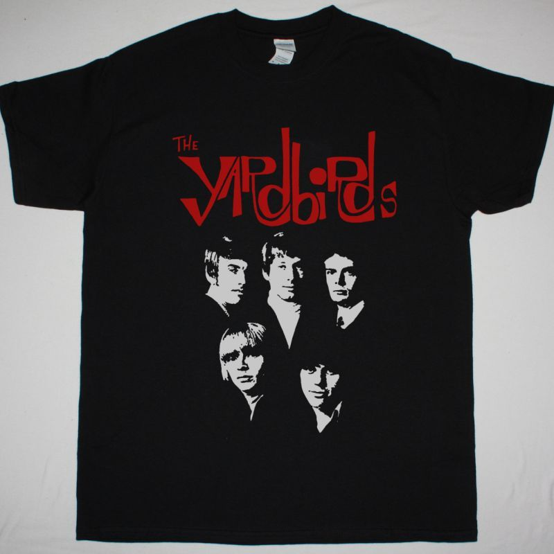 THE YARDBIRDS THE STORY OF NEW BLACK T SHIRT