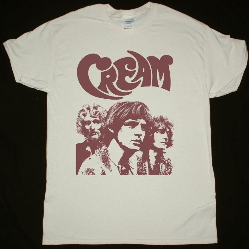 CREAM BAND NEW NATURAL T-SHIRT