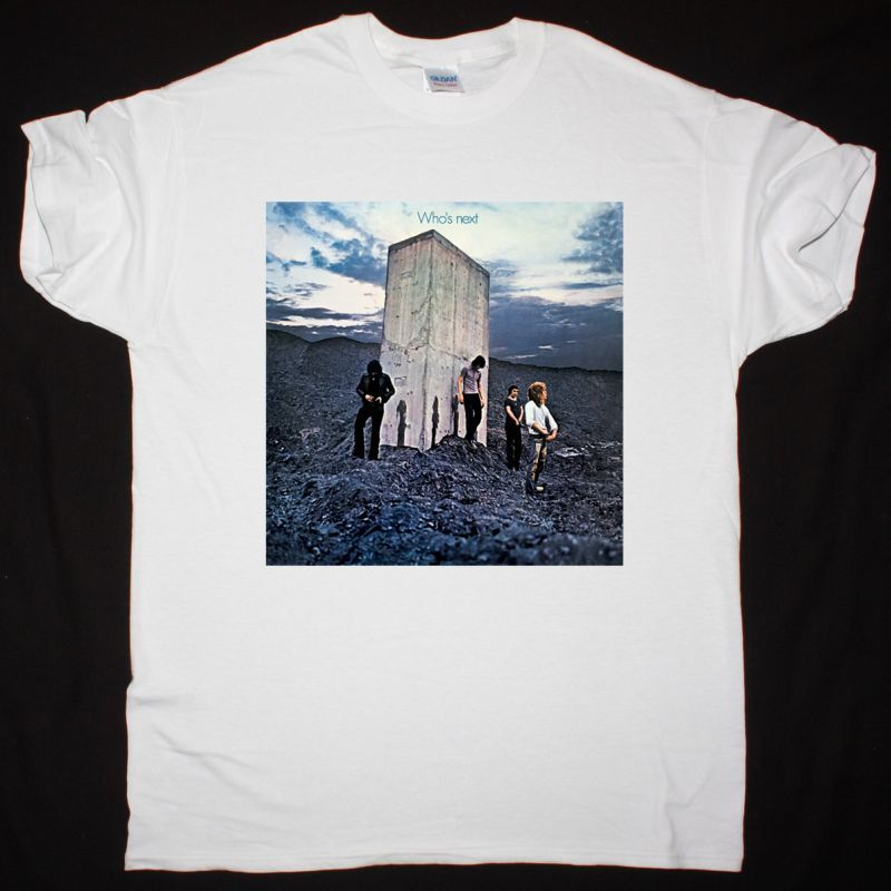 THE WHO WHO'S NEXT 1971 NEW WHITE T SHIRT