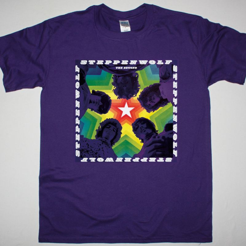 STEPPENWOLF THE SECOND 1968 NEW PURPLE T-SHIRT
