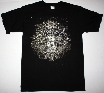 NIGHTWISH ENDLESS FORMS MOST BEAUTIFUL 2015 NEW BLACK T-SHIRT