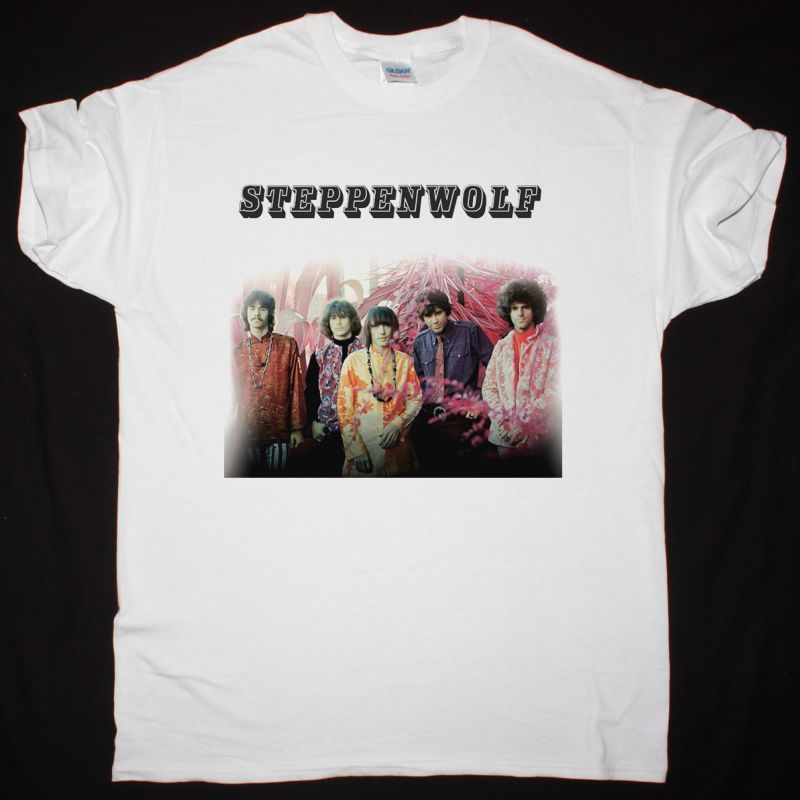STEPPENWOLF STEPPENWOLF 1968 NEW WHITE T-SHIRT