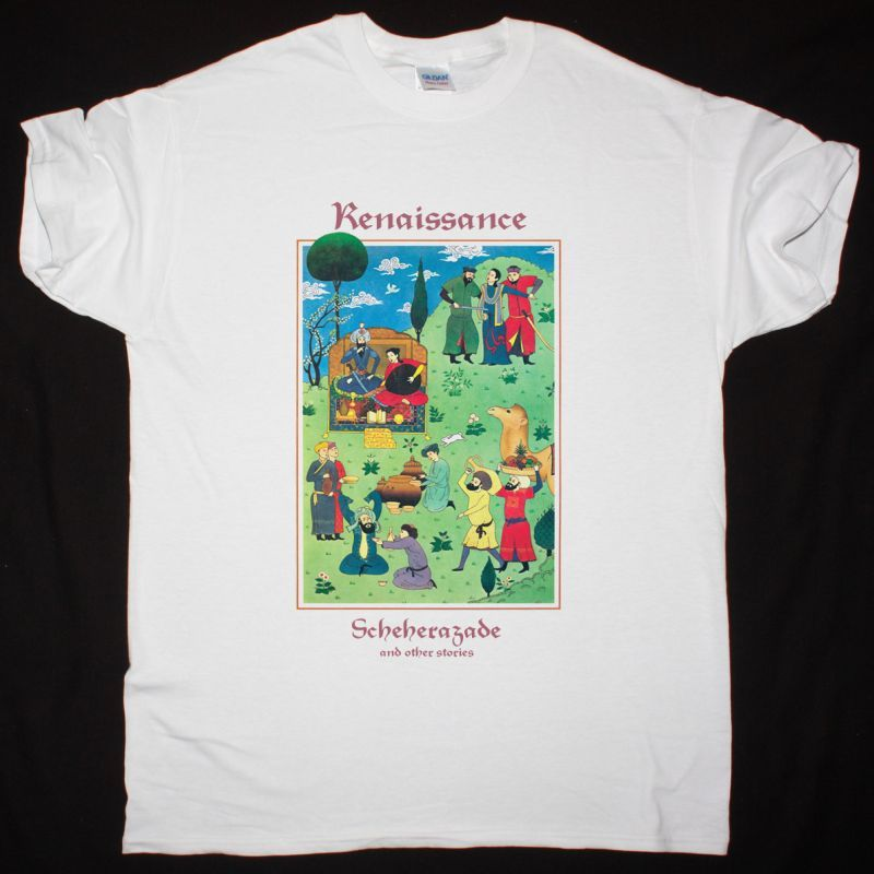 RENAISSANCE SCHEHERAZADE AND OTHER STORIES1975 NEW WHITE T SHIRT