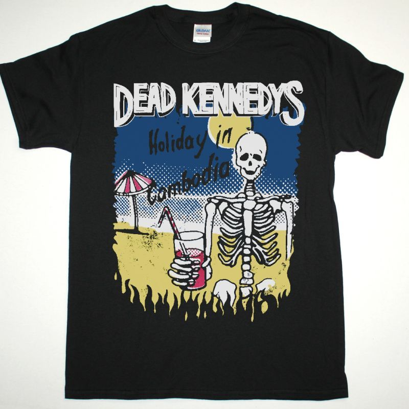 DEAD KENNEDYS HOLIDAY IN CAMBODIA NEW BLACK T-SHIRT