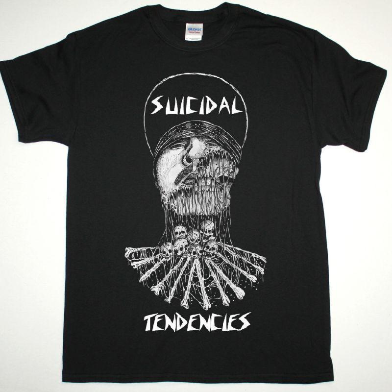 SUICIDAL TENDENCIES MIKE MUIR NEW BLACK T-SHIRT