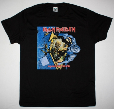 IRON MAIDEN 1990 NO PRAYER FOR THE DYING NEW BLACK T-SHIRT