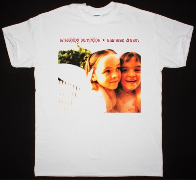 THE SMASHING PUMPKINS SIAMESE DREAM NEW WHITE T-SHIRT