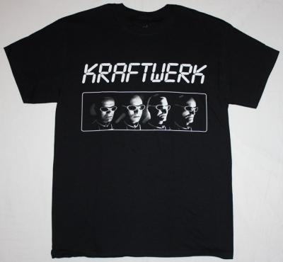 KRAFTWERK DEN ATELIER S-XXL NEW BLACK T-SHIRT