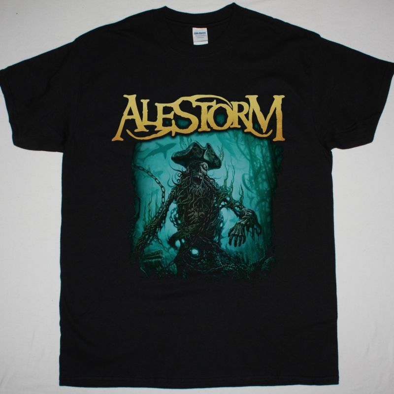ALESTORM NO GRAVE BUT THE SEA NEW BLACK T-SHIRT