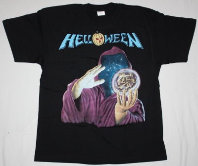 HELLOWEEN KEEPER OF THE SEVEN KEYS'87 NEW BLACK T-SHIRT