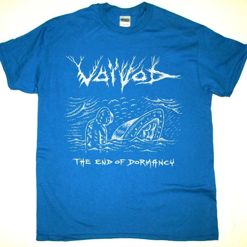 VOIVOD THE END OF DORMACY NEW SAPPHIRE BLUE T SHIRT