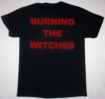 WARLOCK BURNING THE WITCHES'84  NEW BLACK T-SHIRT