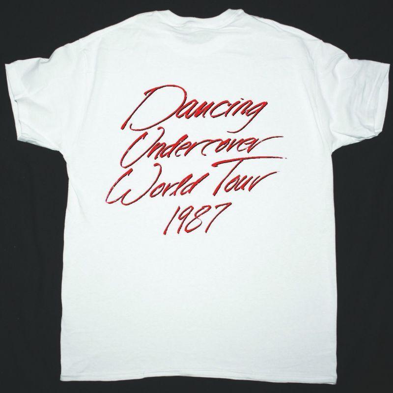 RATT DANCING UNDERCOVER WORLD TOUR 1987 NEW WHITE T-SHIRT