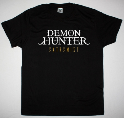 DEMON HUNTER EXTREMIST NEW BLACK T-SHIRT
