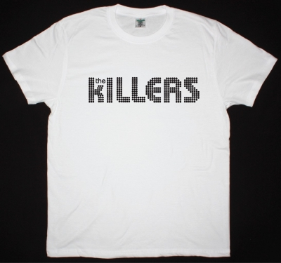 THE KILLERS LOGO NEW WHITE T-SHIRT