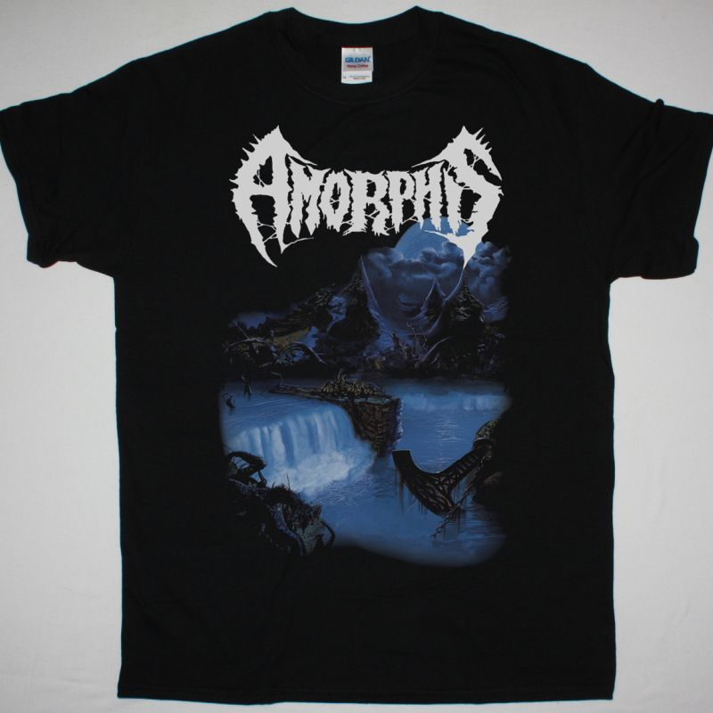 AMORPHIS TALES FROM THE THOUSAND LAKES NEW BLACK T SHIRT