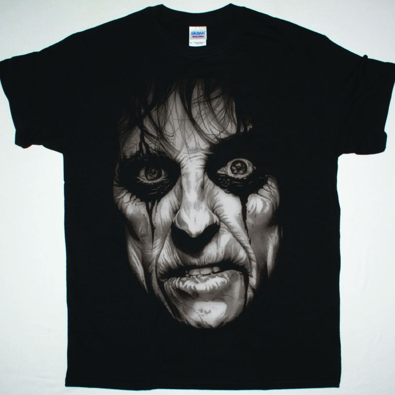 ALICE COOPER BLACK T SHIRT
