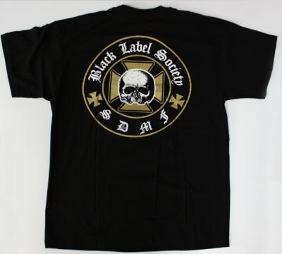 BLACK LABEL SOCIETY LOGO NEW BLACK T-SHIRT