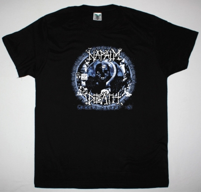 NAPALM DEATH SMEAR CAMPAIGN NEW BLACK T-SHIRT
