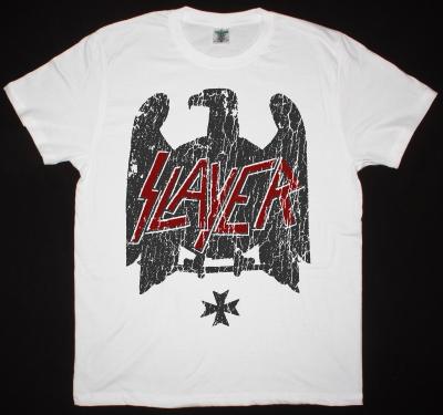 SLAYER EAGLE 2  NEW WHITE T SHIRT