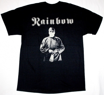 RAINBOW DIFFICULT TO CURE 81 NEW BLACK T-SHIRT